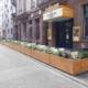Gastronomie-Parklets für Mannheim